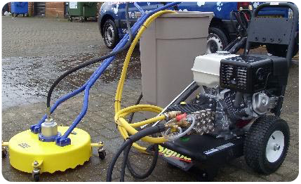 Drive Cleaning Equipment